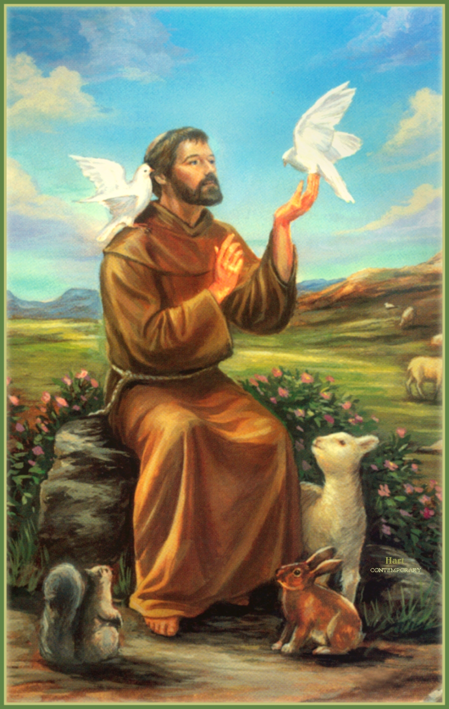 St francis of assisi patron 28 images francis of for La salle a manger francis jammes
