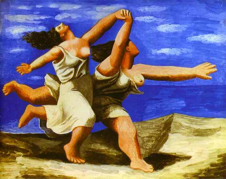 33.PabloPicasso-Two-Women-Running-on-the-Beach-The-Race-1922