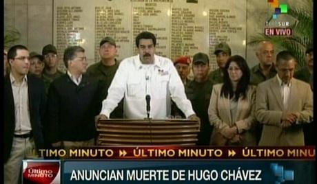 VENEZUELA-CHAVEZ-DEATH-MADURO