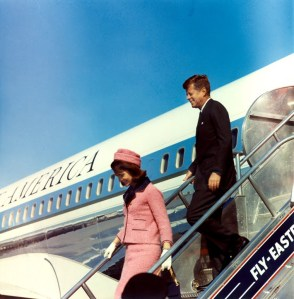 851a. The Kennedys Arrive In Dallas On 11-22-63 (Higher-Quality Version Of This Cecil Stoughton Photo) (1)