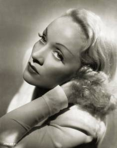 Portrait of Marlene Dietrich